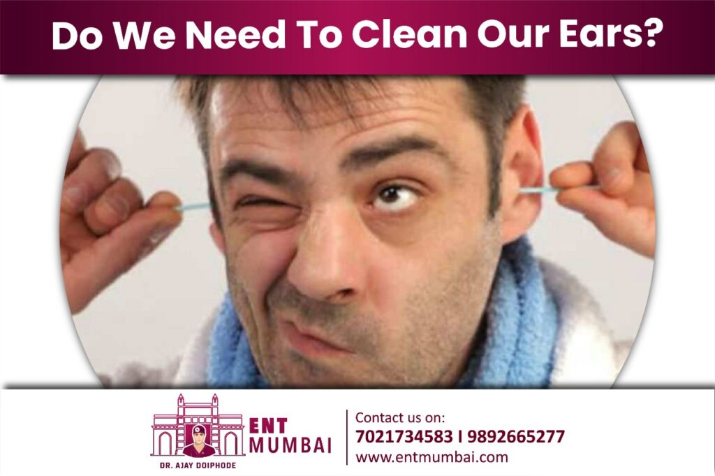 Do we need to clean our ears